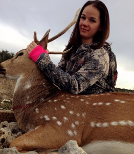 Desiree's Axis Buck