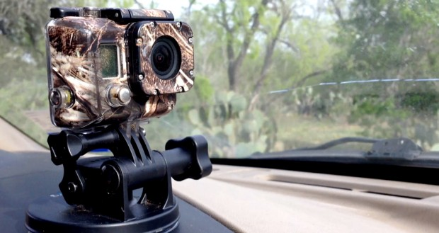 GoPro Armor Filming On the Dash